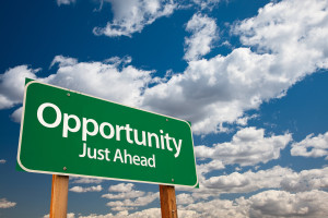 bigstock-Opportunity-Just-Ahead-Green--11944727